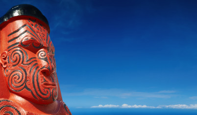 Traditional Maori sculpture