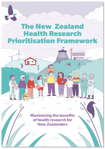 The New Zealand Health Research Prioritisation Framework document cover