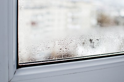 Condensation on house window